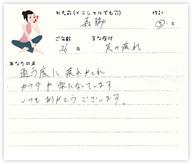 森脇さん 26歳 男性